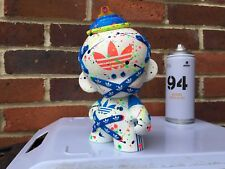 "Kidrobot Custom Adidas 8"" Pouces MUNNY/graffiti/ART TOY/kaws/Star Wars"