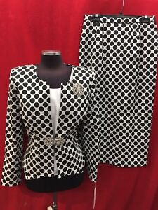LILY&TAYLOR SKIRT SUIT/SKIRT LENGTH 42'/LINED/NEW WITH TAG/RETAIL$279/SIZE 8/