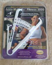 Accu-Measure Fitness 3000 Personal Body Fat Tester Caliper Gold Standard Accurac