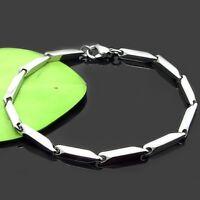 """Stainless Steel Men's/Women's Bracelet Link 8.2""""Chain Fashion Jewelry"""