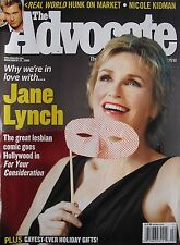 JANE LYNCH  2006 The Advocate  NICOLE KIDMAN  DANNY ROBERTS  MARCELINO GONCALVES