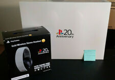 Sealed Sony PlayStation 4 20th Anniversary Edition Console and PS4 Headset