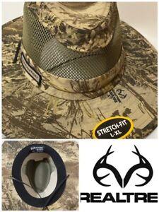 CAP - BRIMMED SAFARI HAT REALTREE XTRA® CAMO MESH CROWN HUNTING HAT