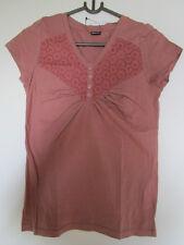 Shirt Gr. 32 Rosenholz Kurzarm