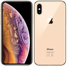 "Apple MT9G2B/A iPhone XS 5.8"" 4G Sim Free Unlocked 64GB Smartphone (Gold) B+"