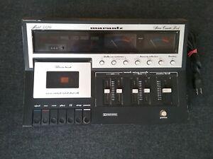 Marantz 5120 Stereo Cassette Tape Deck Working Condition Japan Electronics