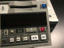 Sony Mds-B1 Mini Disk Player/Recorder (Single unit)