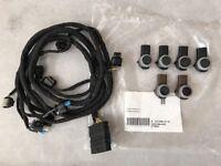 Cablaggio Sensori di Parcheggio + 6x Pdc Mercedes W212 Restyling Anteriore
