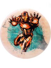 Marvel DyeMax Disc Golf Dynamic Discs Invincible Iron Man Fuzion Truth 176g New