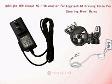 AC Adapter For Logitech Driving Force Pro GT EX PS3 Xbox 360 Wheel Power Supply