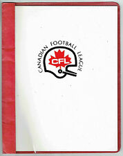 1986 CFL Marketing Guide, Licensed Products, Contact Info for Teams and CFL
