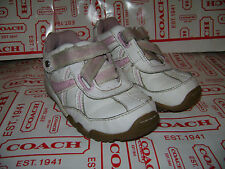 STRIDE RITE TODDLER GIRLS SHOES SNEAKERS FLATS CARISSA size 6 M WHITE PINK CUTE