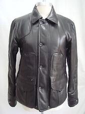 NEW RALPH LAUREN Black Label $2,598 lambskin leather jacket size 6