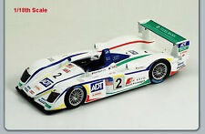 1/18 Spark Model Audi R8 Champion Racing Le Mans 24 Hrs 2005 Biela/Pirro/McNish