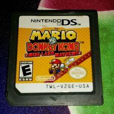 Mario vs. Donkey Kong DK Mini Land Mayhem Cart Only Nintendo DS