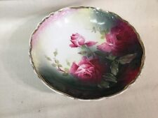 "Weimar Germany 8 7/8"" Porcelain Bowl Signed By Greiner See Pics 4 Details"