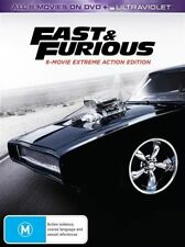Fast & Furious (DVD, 2017, 8-Disc Set)