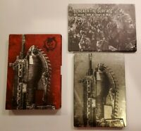 Xbox 360 Gears of War 2 - Limited Edition Steelbook & Art Book - No Slip Cover