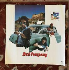 BAD COMPANY  Desolation Angels  rare original promo poster from 1979