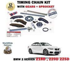 POUR BMW 2 COUPE 218D 220D 225D 13-> KIT DE CHAÎNE TIMING DES CAMES+MOTEURS