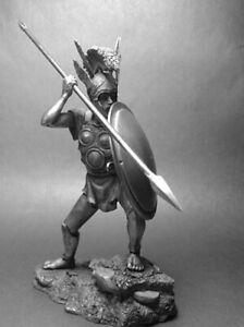 Ancient Italics Samnite Warrior 3th century BC 1/24 Scale Unpainted Tin Figure