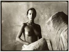 Photo Argentique Baryté Femme Nu Artistique Studio Mode 1980/90