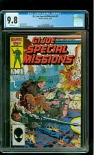 G.I. Joe Special Missions 2 CGC 9.8 NM/MINT Roadblock Alpine Cobra Zeck cover