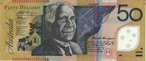 Billet Australia Australie 50 Dollars 1995 Unaipon Cowan #258556 EG 95 351 851