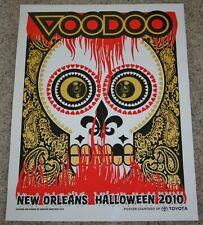 VOODOO FEST 2010 New Orleans Rare POSTER Music Festival OZZY OSBOURNE Drake