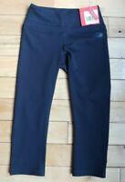 North Face Hatha Capri Crop Leggings Yoga Pants Black Slim Fit Women Sz XS NWT
