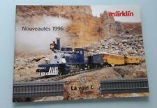 CATALOGUE MARKLIN 1996 - TRAIN ELECTRIQUE HO 1/87