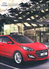 2015 2016 i30 and Elantra 56-page Australia Car Sales Brochure Catalog