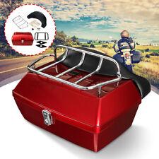 48L Universal Motorradkoffer Scooter Top Case Hecktasche Rollerkoffer Tasche Rot
