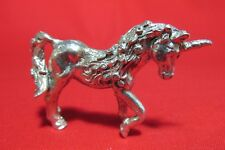 Pewter Fancy  Unicorn Figurine