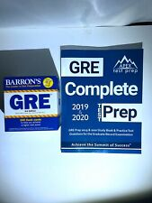 Barron's GRE Flash Cards, 3rd Edition: 500 Flash Cards & GRE Complete Test Prep