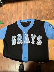 1929-1948 Homestead Grays Josh Gibson Baseball Jersey 20 Negro League 2xl-3xl