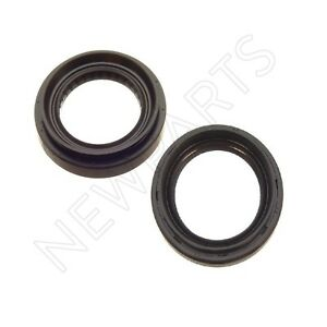 OEM 2-Pieces Set of 2 Shaft Drive Axle Seal for Acura CL Honda Accord Prelude