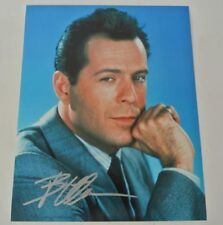 Bruce Willis Hand Signed Autographed 8x10 Moonlighting Photograph Autograph