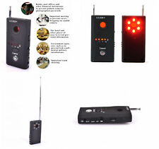 ANTI SPY Signal RF Bug Hidden DETECTOR Camera Lens GSM Device Tracer Finder New