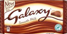 Galaxy Liso Leche Tableta de chocolate 3x 114g