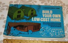 """L. O. Anderson & Harold F. Zornig- Build your own Low-Cost Home, prints 16 x 11"""""""
