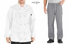 Chef Code Chef Uniform Set Chef Coat and Pants / Chef Jackets Cc119-202