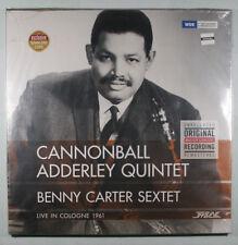 CANNONBALL ADDERLEY / BENNY CARTER Live In Cologne 1961 SEALED VINYL ALBUM + MP3