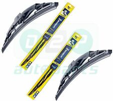 "Michelin New Rainforce Traditional Wiper Blades Pair 15""/24"" Honda CIVIC 01-05"