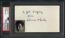"Norman Mailer D.2007 Writer The Executioner's Song Signed 3"" x 5"" Index Card PSA"