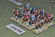 25mm medieval / turkish - seljuk turk horse archers 10 figs - cav (21698)