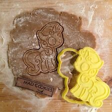 Sweetie Belle Cookie Cutter My Little Pony fondant mold 3d printed cookiecutter