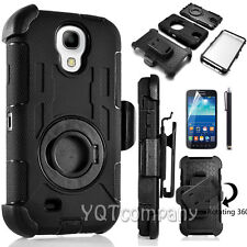 Shockproof Rugged Rubber Hybrid Hard Clip Case Cover For Samsung Galaxy S5 S4 S3