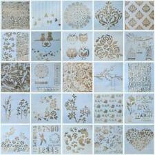 13x DIY Crafts Layering Stencils Scrapbooking Wall Painting Embossing Template