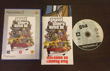 Grand Theft Auto III GTA 3 Play Station 2 PS2 PAL